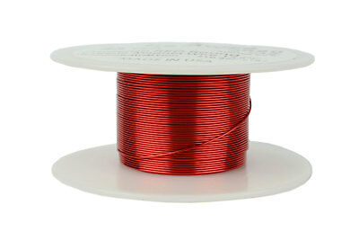 Magnet Wire 24 AWG Gauge Enameled Copper 2oz 155C 98ft Magnetic Coil Winding