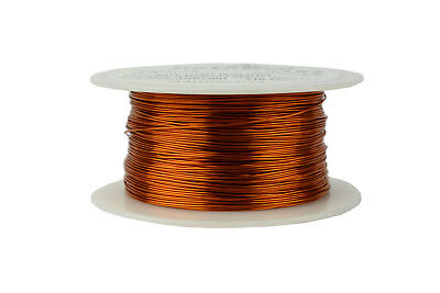 TEMCo Magnet Wire 24 AWG Gauge Enameled Copper 200C 8oz 395ft Coil Winding