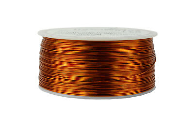 TEMCo Magnet Wire 24 AWG Gauge Enameled Copper 200C 1lb 790ft Coil Winding