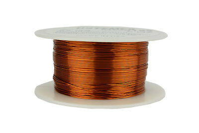 Magnet Wire 25 AWG Gauge Enameled Copper 200C 8oz 497ft Magnetic Coil Winding