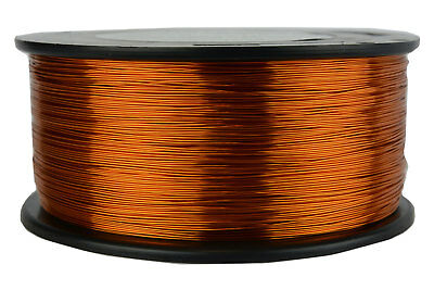 TEMCo Magnet Wire 25 AWG Gauge Enameled Copper 200C 1.5lb 1492ft Coil Winding