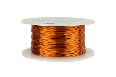 Magnet Wire 26 AWG Gauge Enameled Copper 200C 8oz 629ft Magnetic Coil Winding
