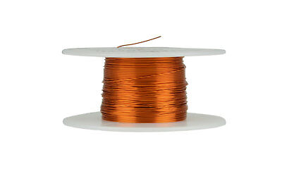 Magnet Wire 27 AWG Gauge Enameled Copper 200C 2oz 196ft Magnetic Coil Winding
