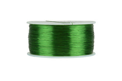 TEMCo Magnet Wire 30 AWG Gauge Enameled Copper 155C 1lb 3132ft Coil Green