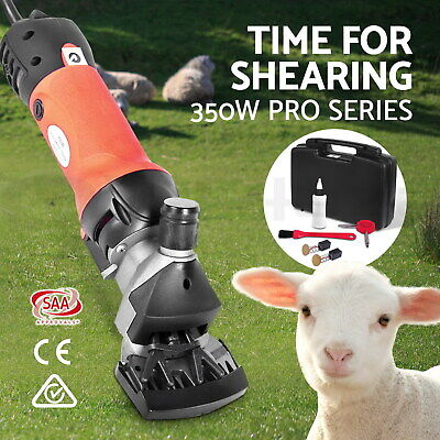350W Electric Sheep Shearing Clipper Shear Goats Supplies Alpaca Farm Shears