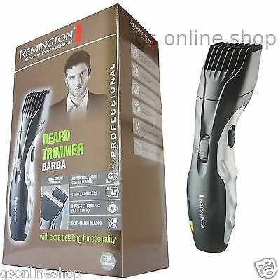 *NEW REMINGTON MB320C BARBA BEARD TRIMMER RECHARGEABLE CORDLESS WITH ZOOM WHEEL*