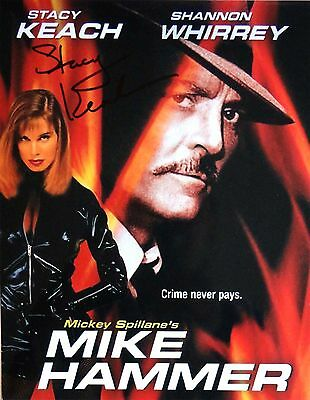Stacy Keach signed Mike Hammer photo / autograph 8x10