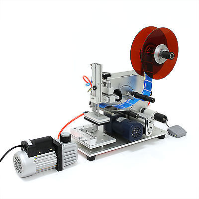 110V Semi-Auto pneumatic labeling machine for flat surface MT-60 without Printer
