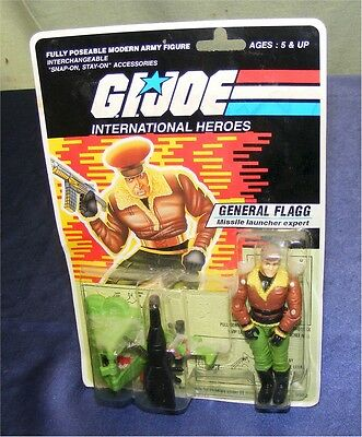 Gi Joe General Flagg Ovp Moc 2002 Hasbro/funskool India