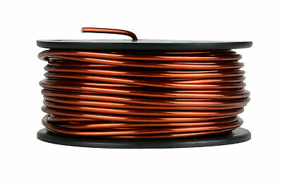 TEMCo Magnet Wire 10 AWG Gauge Enameled Copper 1.5lb 47ft 200C Coil Winding