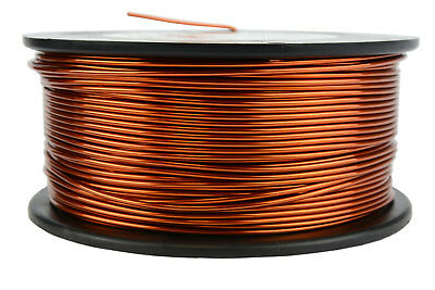 Magnet Wire 16 AWG Gauge Enameled Copper 1.5lb 188ft 200C Magnetic Coil Winding