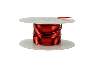 Magnet Wire 18 AWG Gauge Enameled Copper 2oz 155C 25ft Magnetic Coil Winding