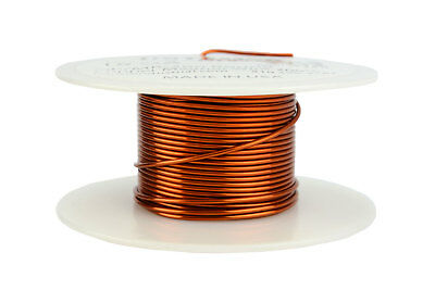 TEMCo Magnet Wire 18 AWG Gauge Enameled Copper 200C 2oz 25ft Coil Winding