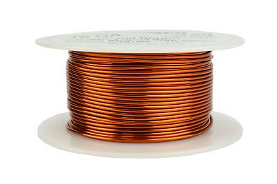 Magnet Wire 18 AWG Gauge Enameled Copper 200C 8oz 100ft Magnetic Coil Winding