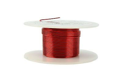 TEMCo Magnet Wire 20 AWG Gauge Enameled Copper 2oz 155C 39ft Coil Winding