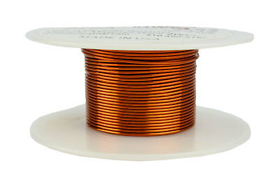 Magnet Wire 20 AWG Gauge Enameled Copper 200C 2oz 39ft Magnetic Coil Winding