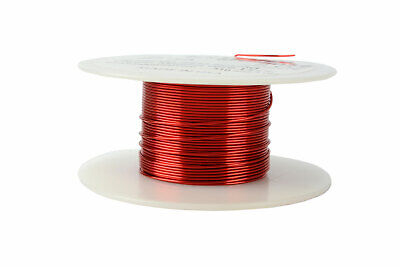 Magnet Wire 22 AWG Gauge Enameled Copper 2oz 155C 62ft Magnetic Coil Winding