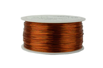 Magnet Wire 23 AWG Gauge Enameled Copper 200C 1lb 626ft Magnetic Coil Winding