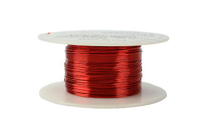 TEMCo Magnet Wire 24 AWG Gauge Enameled Copper 4oz 155C 197ft Coil Winding