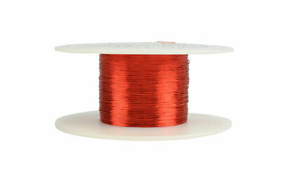 Magnet Wire 34 AWG Gauge Enameled Copper 2oz 155C 980ft Magnetic Coil Winding