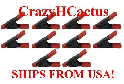 """12 Pieces 2"""" Spring Hand Clamps Great for Chips, Crafts, Hobby Work FREE SHIP US"""
