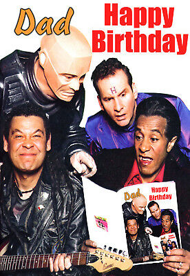 Red Dwarf - Back to Earth - PERSONALISED Birthday Sci-fi Greeting ART Card