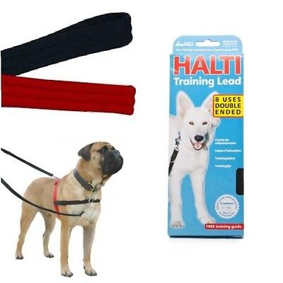 Halti Dog/Puppy Multi Functional Training lead- Black- Includes Training Guide