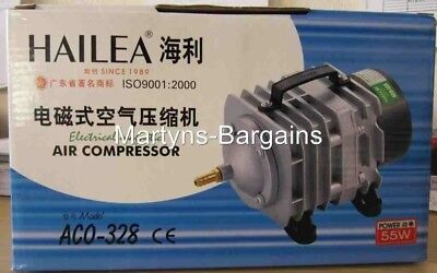 Hailea Air Compressor. ACO-328. Electrical Magnetic.