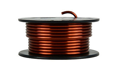 Magnet Wire 8 AWG Gauge Enameled Copper 8oz 10ft 200C Magnetic Coil Winding