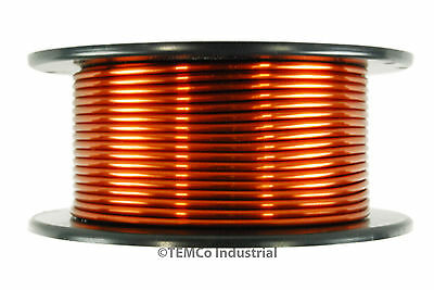 TEMCo Magnet Wire 8 AWG Gauge Enameled Copper 1.5lb 35ft 200C Coil Winding