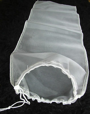 400 Micron Nylon Mesh Extra Long Pond Filter Net Bag Sock Koi Carp Pump Uv Media