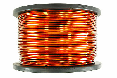 TEMCo Magnet Wire 9 AWG Gauge Enameled Copper 10lb 250ft 200C Coil Winding