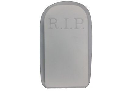 RIP Tombstone Halloween Plaster Cement Concrete Mold 8010 Moldcreations