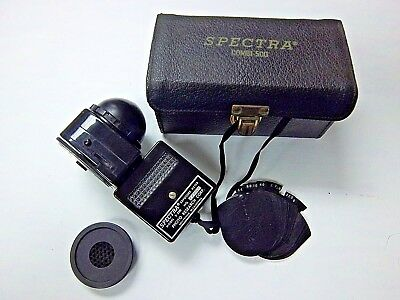 Spectra Cine Exposure Meter Model S-500. Used Good condition.