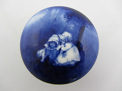 Lord Nelson Ware Two Girls Small Pill Box