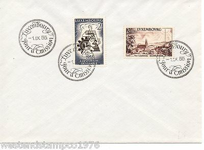 Luxembourg. Postal History.  Fdc. 1955.