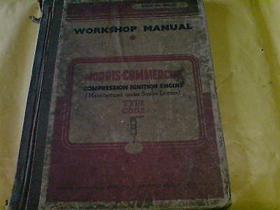 Morris Commercial Compression Ignition Engine (Type Cdd2)