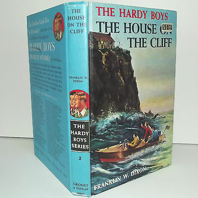The House on the Cliff - Vintage Hardy Boys Book #2 -By Franklin W. Dixon