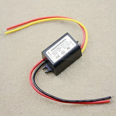 Waterproof DC/DC Converter 12V Step down to 6V 3A 15W Power Supply Module