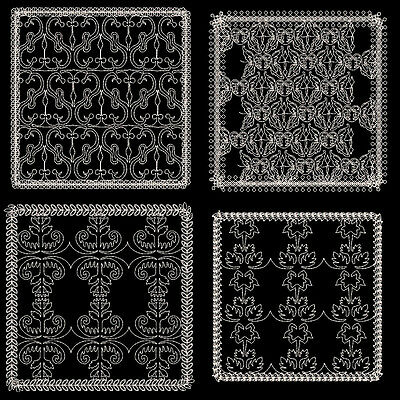 Quilting Backgrounds #3 - 30 Machine Embroidery Designs (Azeb)