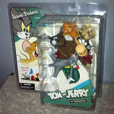 "McFarlane Hanna Barbera Series 1 TOM & JERRY ""No Trespassing!"" Figure Statue"