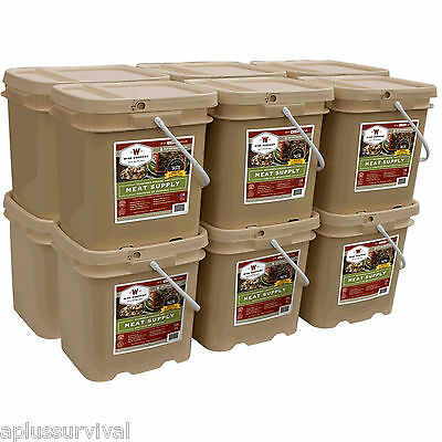Wise Foods 720 Servings Survival Protein Emergency Chicken Beef Meat Rations