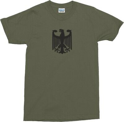 German Army Eagle Bundeswehr T-Shirt - Available In Various Colours, S-XXL