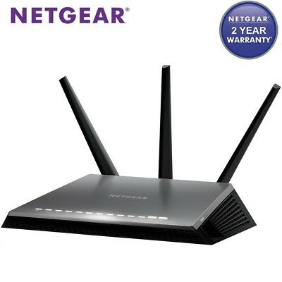 Netgear Nighthawk D7000 AC1900 Dual Band Wireless Gigabit ADSL2+ Modem Router
