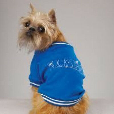Casual Canine ROCK STAR Dog Tee Shirt BLUE  SALE! SIZES LIMITED!