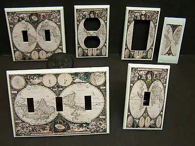Old World Map #1   Light Switch Cover Plate Or Outlet Cover