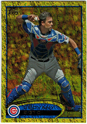 2012 Topps Series 1 Gold Sparkle Parallel #56 Geovany Soto CUBS