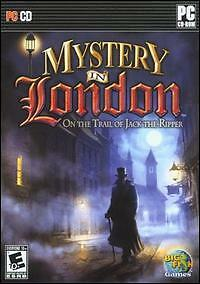 Mystery in London: On the Trail of Jack The Ripper PC CD find hidden object game