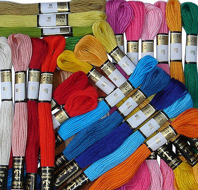 175 ANCHOR Cross Stitch Cotton Stranded Embroidery Thread Skeins