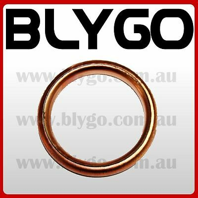 32mm Copper Exhaust Pipe Gasket 110cc 125cc PIT PRO Quad Dirt Bike ATV Buggy
